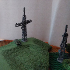 Picture of print of Battlefields of Tomorrow - Towers and Lookouts