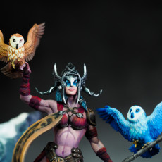 Picture of print of Frost Giant Queen
