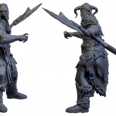 Picture of print of Frost Giant Berserker
