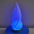 fire pit neopixel rgb desk lamp image