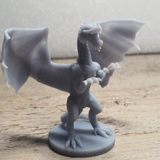 Picture of print of Red Dragon Updated