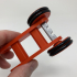 Designing a Simple 3D Printed Rubber Band Car Using FreeCAD image