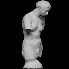 Torso of the naked Muse