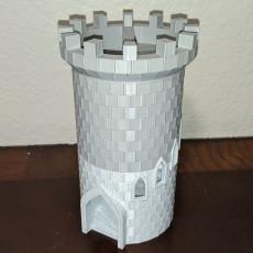 Segmented Dice Tower