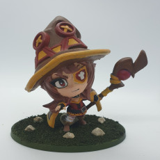 Picture of print of Explosion Mage