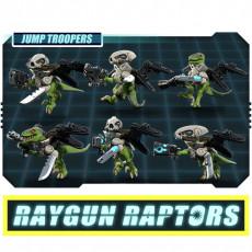 Raygun Raptors Jump Trooper Squad
