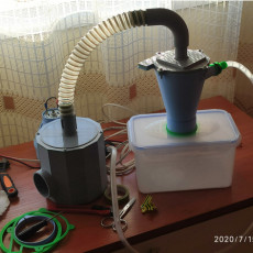 Vacuum cleaner for CNC (using powerful motor 800W 220V)