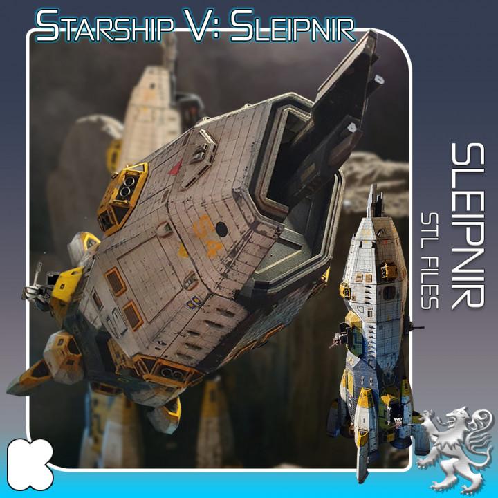 Starship Sleipnir's Cover
