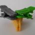 Crocodile bag clip image