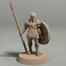 Realm of Eros soldier pose 1 miniature - STL file