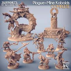 COMPLETE Plague-Mine Kobolds (presupported)