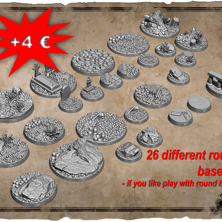 ADD-ON Round Bases + Bonus's Cover