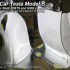 MyRCCar 1/10 Tesla Model-S RC Car Body revisited. Smoothed and detailed image