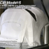 MyRCCar 1/10 Model-S RC Car Body revisited. Smoothed and detailed image