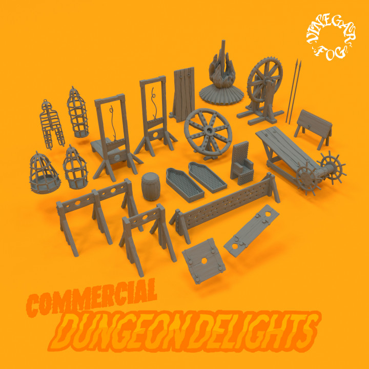 Dungeon Delights - Devices (Commercial)'s Cover