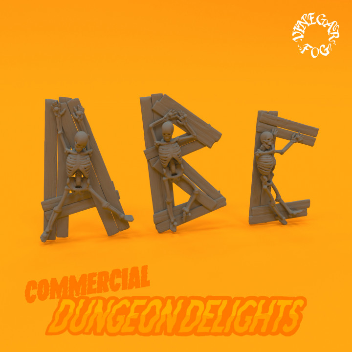Dungeon Delights - Alphabet (Commercial)'s Cover