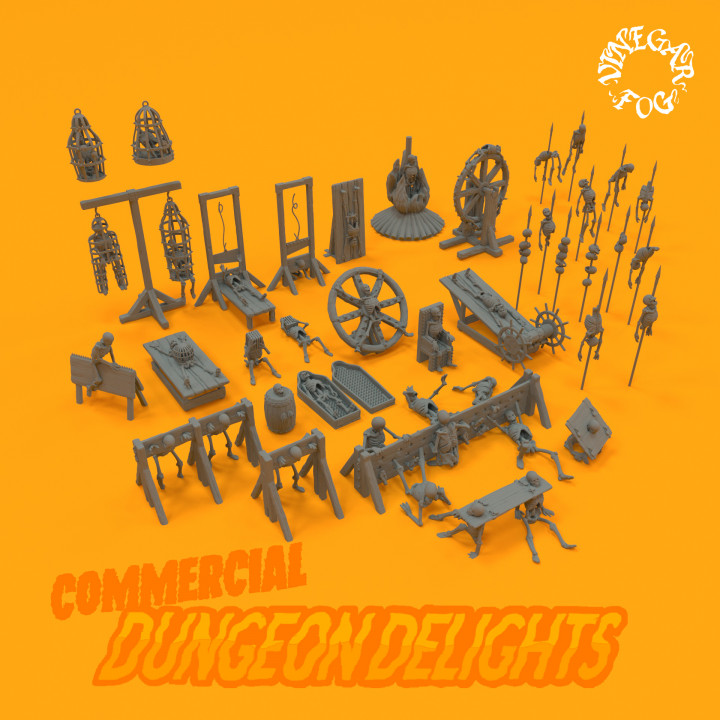 Dungeon Delights - Collection (Commercial)'s Cover