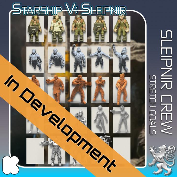 Sleipnir Crew Stretch Goals's Cover