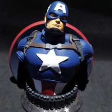 Picture of print of WICKED MARVEL AVENGERS CAPTAIN AMERICA Support Free Remix