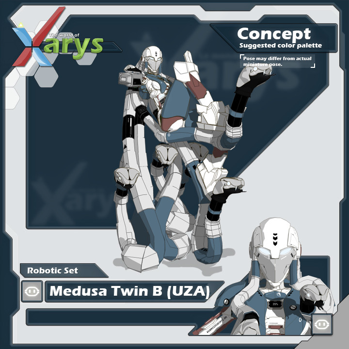 Robotic Medusa Twin B