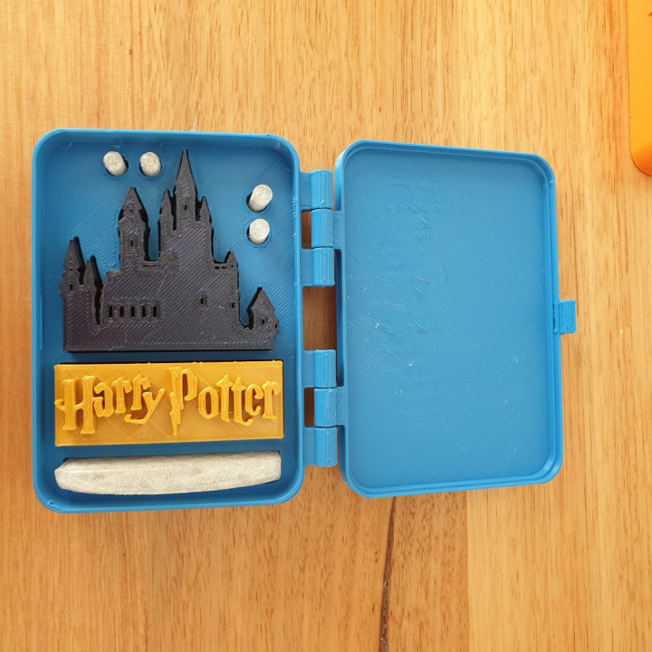 Harry Potter in a box