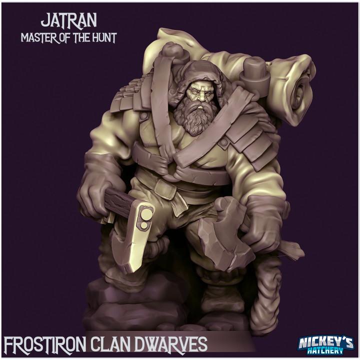 Jatran, Master of the Hunt - Frostiron Dwarves's Cover