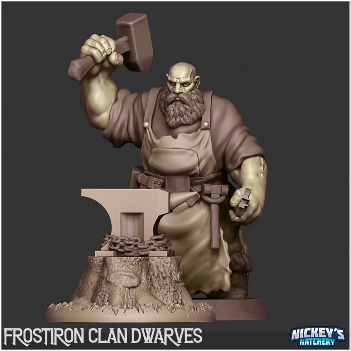 Dwarf Blacksmith - The Frostiron Clan's Cover