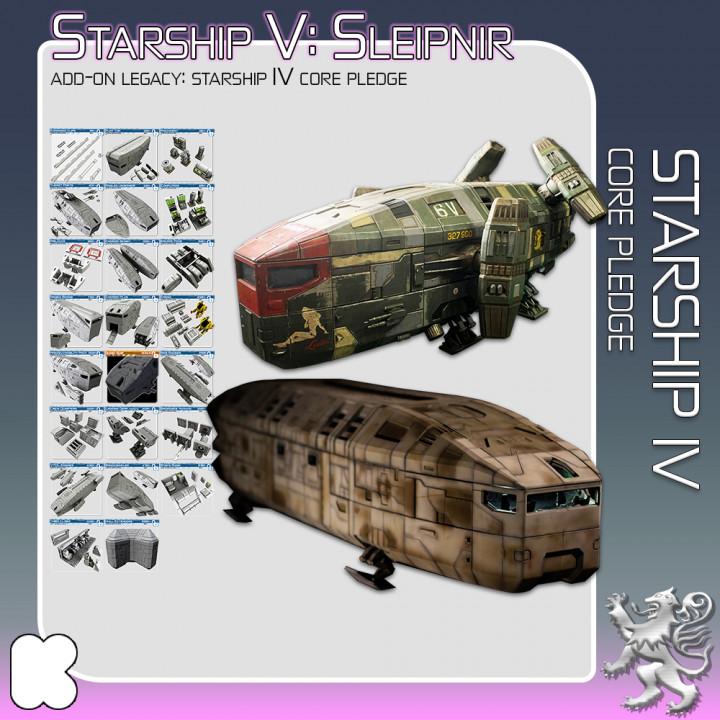 Starship IV Core Pledge's Cover