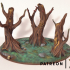 Magical Forest - Set of Trees image