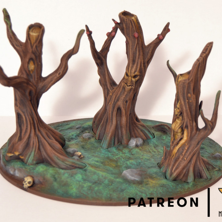 Magical Forest - Set of Trees