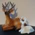 Laying deer image