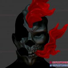 Ghost Rider Skull Mask - Cosplay Halloween Helmet