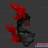 Ghost Rider Skull Mask - Cosplay Halloween Helmet image