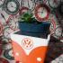 Vw Bus flowerpot image