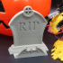 Tombstone Card Holder image