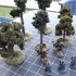 Magnetic Tabletop Trees image