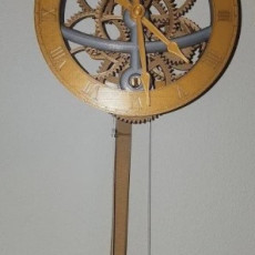 Picture of print of Small Pendulum Wall Clock