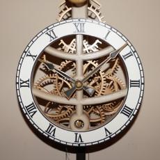 Small Pendulum Wall Clock