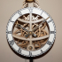 Small Pendulum Wall Clock image