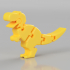 Baby T-rex Flexy Keychain image