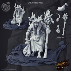 Swamp Witch (Pre-Supported)