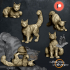 House Cats - Presupported - 5 Poses image
