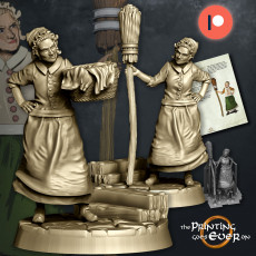 House Keeper - Presupported - 2 Variants