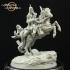 Dark Rider Khulsuud Mounted - Presupported image