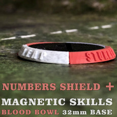 Magnetic Skills 32mm Blood Bowl