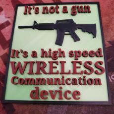 Not a gun.