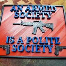 Polite society.