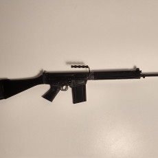 Picture of print of FN-FAL - scale 1/4