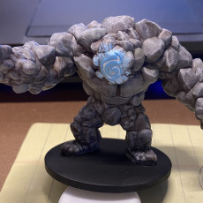 Picture of print of Rock Golem