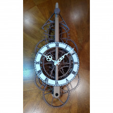 Picture of print of Large Pendulum Wall Clock